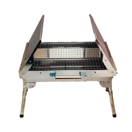Charcoal Grill Barbecue Grill Portable Stainless Steel