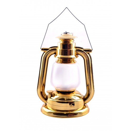 Classic Style Light Up Lantern With Key Chain