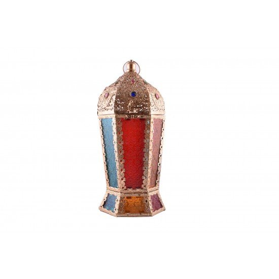 Moroccan Jewelry Metal Lantern Home Decoration