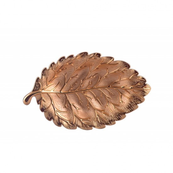 Leaf-shaped plate jewelry storage tray + A FREE GIFT OF YOUR CHOICE