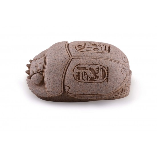 Ancient Egyptian Scarab Beetle Ashtray Miniature Artifact
