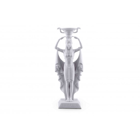 Ancient Egyptian Noblewoman Candle holder figurine