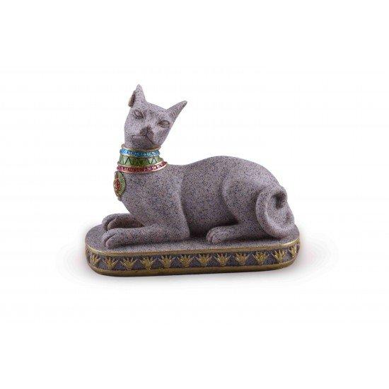 Resin Ancient Egyptian Cat Statue- Goddess Bastet Figurine For Home/ Garden decoration- Novelty household crafts