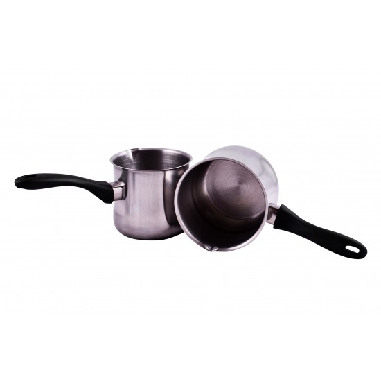 Stainless Steel Coffee Warmer Milk Pot Tea Pot Coffee Pot Set 4