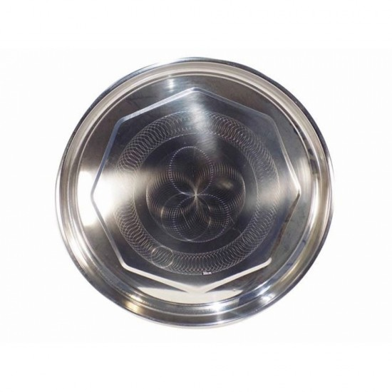 Stainless Steel Serving Round Tray 20 inch
