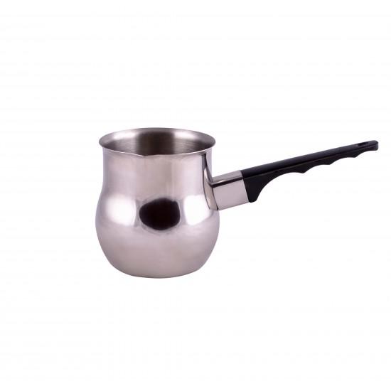 Stainless Steel Tea Pot/Milk Heating Pot/Coffee Boiler Pot - Set of 3