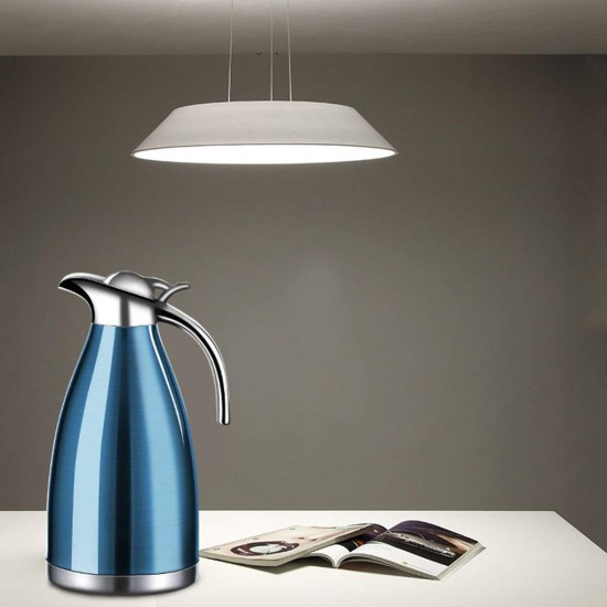 Limited Offer Buy 1 & Get 1 Free Now European 51 Oz Stainless Steel Thermal Coffee 1.5L Capacity Water Vacuum Carafe