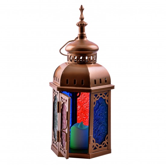 Colored Moroccan Jewelry Lantern Ramadan