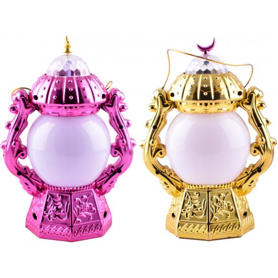 Plastic Lamp Toy Ramadan Lantern- Fanoos
